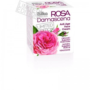 BILKA ROSA DAMASCENA Anti-Age krem do twarzy 40 ml