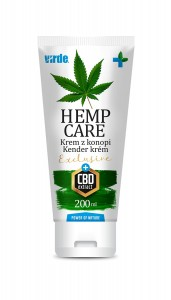 KREM Z KONOPI- HEMP CARE EXCLUSIVE + CBD 200 ml